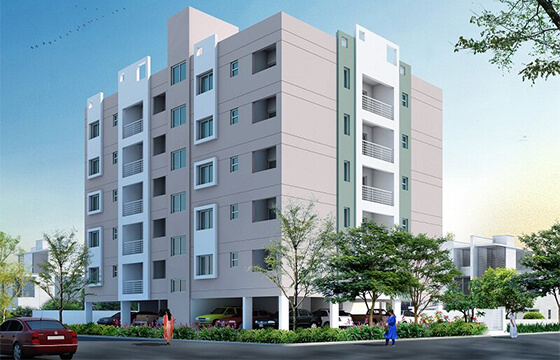 Shopno Neer comarcial building in Bangladesh